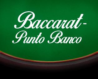 Baccarat - Punto Banco