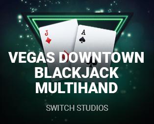 Vegas Downtown Blackjack Multi Hand