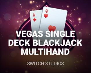 Vegas Single Deck Blackjack Multi Hand